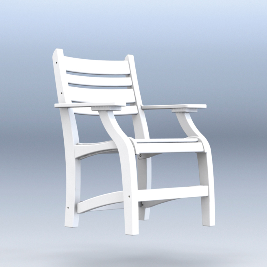 #2001 Dining Chair w/Arms