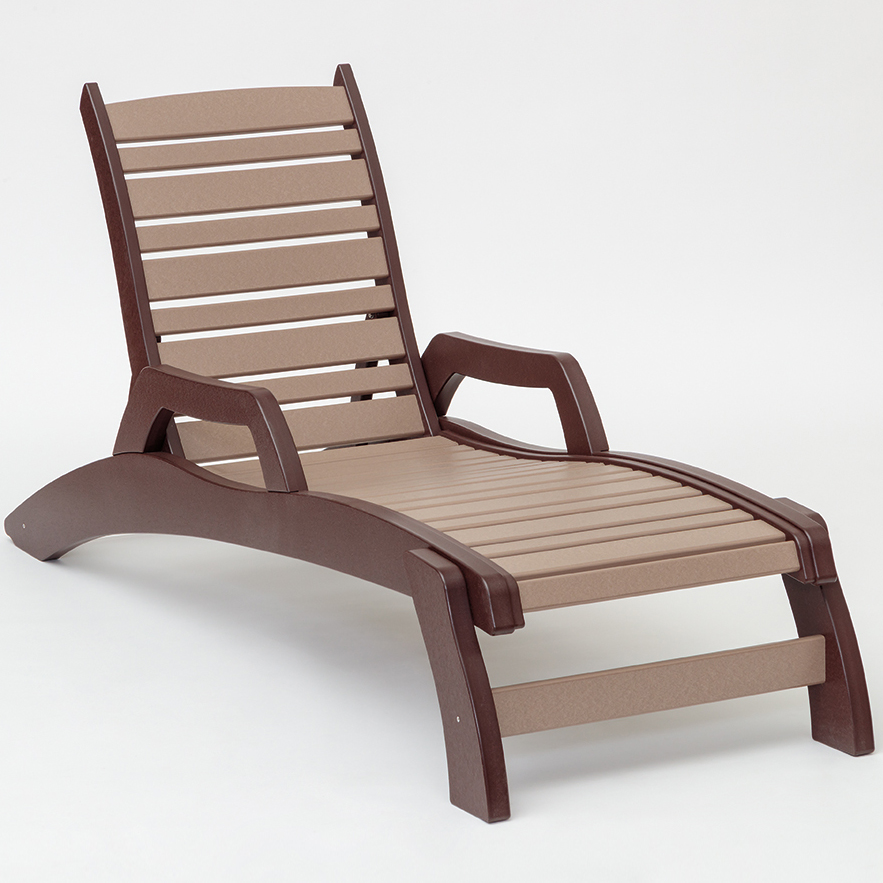 #1601 Chaise Lounge w/Arms