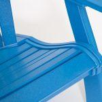 polywood comfort blue molded seat