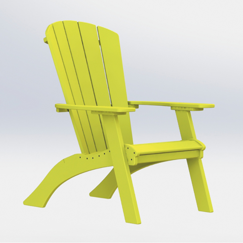#1250 Raised Adirondack Chair