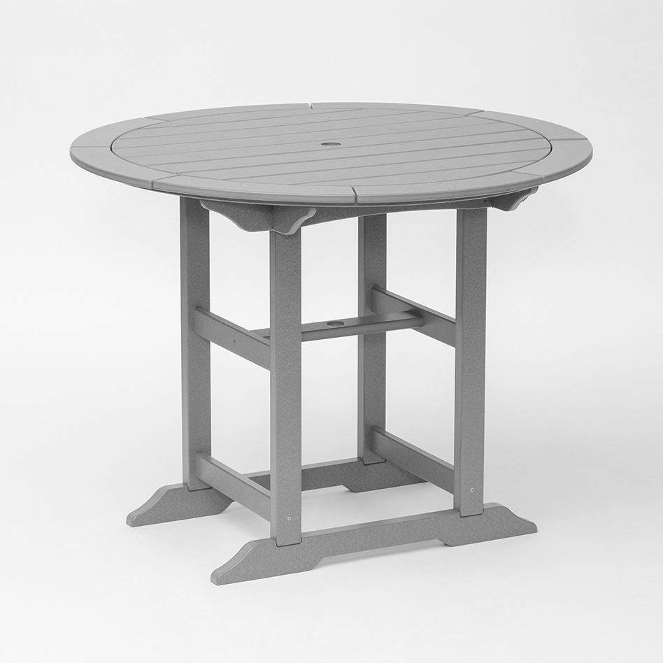 48 60 Round Table Custom Poly Tables Blue Springs Patio Furniture