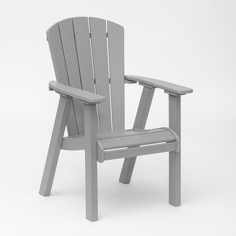 faux wood limited dining chair