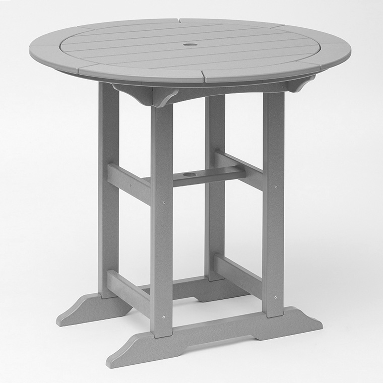 green 42 inch polywood patio table